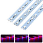 Оригинал 10PCS 50CM SMD5630 Красный: синий 3: 1/4: 1/5: 1 LED Grow Rigid Bar Strip для Hydroponics Greenhouse DC12V