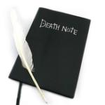 Оригинал Книга смерти записки Прекрасная мода Аниме тема Смерть Примечание Cosplay Notebook Школа Большой журнал записи