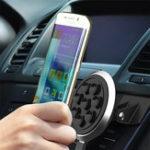 Оригинал Qi Авто Беспроводное зарядное устройство Беспроводная стандартная вакуумная присоска для iPhone 8 X Samsung 8