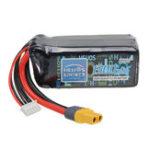 Оригинал Helios 14.8V 1300mAh 4S 75C Lipo Батарея XT60 Plug для Eachine Wizard X220 FPV Racer Дрон