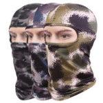Оригинал Unisex Camouflage Face Маска Balaclava Шея Капот для лыжного спорта мотоцикл Riding Tactical Airsoft Game