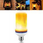 Оригинал E26 150MM 190MM 1300K Warm White Flame Effect Лампочка AC85-265V