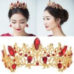 Оригинал Свадебное Bridal Crown Rhinestone Headband Tiara Волосы Ювелирные изделия