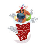 Оригинал Banggood Рождество Носки с 3Pcs Многофункциональный Fidget Spinners
