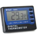 Оригинал VICI TM803 Large LCD Дисплей Холодильник Холодильник Морозильник Термометр -50 ~ 70 ℃ Цифровой сигнализатор Температурный метр ℃ / ℉