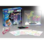 Оригинал 3DВолшебныйМигающийчертежнойдоскеДинозавр игры для детей Дети образования Рождественский подарок игрушки