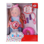 "Оригинал 12 ""Lifelike Baby Dolls со звуком IC Sleeping Children Baby Girl Toy для подарка"
