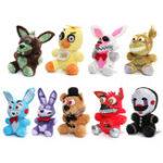 Оригинал Симпатичный плюшевый фарш Хлопок медведя Foxy Duck Rabbit Puppet Kids Gift