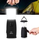 Оригинал НаоткрытомвоздухеСолнечнаяРучнаярукоятка Dynamo Мощностьed LED Фонарь Кемпинг Фонарь аварийный аварийный