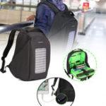Оригинал 16-дюймовыйВодонепроницаемыСолнечнаяПанельныйрюкзакдля ноутбука USB-зарядное устройство На открытом воздухе Travel Кемпинг Сумки