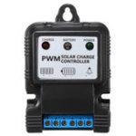 Оригинал 2PCS 6V / 12V 5A/10A Солнечная Контроллер PWM Регулятор заряда с интеллектуальным индикатором LED
