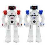 Оригинал Жест Датчик Интеллектуальное программирование управления Танцевальная ходьба Sing RC Robot Toy