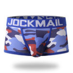 Оригинал Mens Сексуальный Camo Printing Low Rise Breathable Cotton Boxers