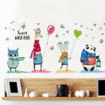 Оригинал Мультфильм автомобилей стены наклейки Дети Мальчики Комната Детский сад Школа Декоративные наклейки стены 45 * 30 см