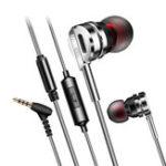 Оригинал FONGEC053,5-ммштекерныйразъемдля ушной проводки Heavy Bass Наушник с микрофоном