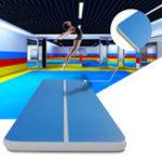 Оригинал 472x78x7.8inchНадувнойСпортзалМатТумбадля ног на подиуме Спортзалnastics Cheerleading Pad