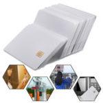 Оригинал 50Pcs Blank Smart Integrated Circuit Card 3-х дорожечная струйная печать ПВХ