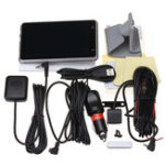 """Оригинал 5 """" Smart Авто Dual камера Вай-фай GPS Bluetooth Позвоните по телефону 170 ° 1080P HD Зарядное устройство для видеозаписи Для iphone X"""