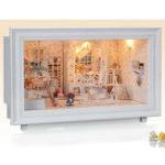 Оригинал iie создать K-002 Princess 'Dream DIY Дом с мебелью Легкая музыка Подарочная игрушка дома