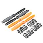 Оригинал 2 пары 6040 Bullnose 6×4 дюймов ABS Propeller Prop CW / CCW для RC Дрон FPV Racing