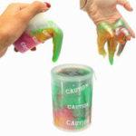 Оригинал Barrel Slime Sticky Toy Случайный цвет Смешанные Дети DIY Смешной подарок