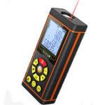 Оригинал VCHON High Precision 40M / 60M / 80M / 100M Лазер Range Finder Расстояние Метр Измерение ленты Rangefinder