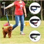 Оригинал Nylon Буфер Отражающие поводки для питомцев Собака Кот Тяга Веревка Вязание крючком и ошейником в 3 цветах
