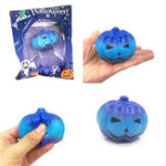 Оригинал 7 * 5.5cm Имитация Хлеб Хэллоуина Звезда Тыква Кулон Soft Медленная Squishy Toys Оригинальная упаковка
