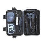 Оригинал На открытом воздухе SOS Emergency Equipment Инструмент Поставка выживания Набор Первая помощь Коробка