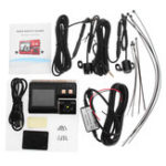 Оригинал 120 ° 720P 2inch TFT LCD Водонепроницаемы мотоцикл HD камера Двойной видеокамеры Camcorde Recorder