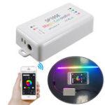 Оригинал SP105E DC5 ~ 24V Bluetooth Телефон APP LED Контрольный модуль для WS2811 WS2812B APA102 Полосатый свет