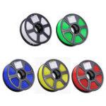 Оригинал 1.75mm 1KG / Roll TLS-PLA 3D Принтер Филамент Красный / Синий / Белый / Зеленый / Желтый Цвет