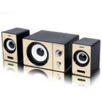 Оригинал SADA D-200D Мини-портативный стереофонический глубокий бас USB 3,5 мм Aux Speaker Настольный громкоговоритель