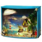 Оригинал T-Yu TY1 Ultima Thule DIY Кукольный домик со световой миниатюрной моделью Подарочная коллекция Декор Игрушка