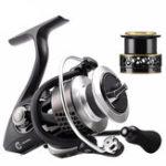 Оригинал SeaKnightWRII10+1BB 6.2: 1 Spinning Рыбалка Катушка с запасной катушкой 2000H 3000H 4000H Wheel