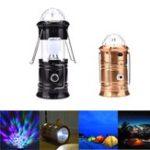 Оригинал 6W 3 в 1 RGB LED Crystal Волшебный Ball Stage Light Портативный перезаряжаемый Кемпинг Фонарь На открытом воздухе