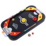 Оригинал 2в1мини-хоккейномстолеФутбол настольный бой турнир игра для детей семьи интерактивная игрушка
