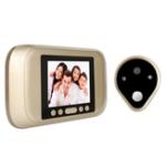 Оригинал P01 HD Peephole Viewer Visual Doorbell 1.0Mega Pixel Security камера Больше, чем One Year в режиме ожидания
