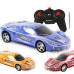 Оригинал 4WD 1/24 RC Дистанционное Управление Light Up Racing Авто W / 3D Flashing Lights Drive Toy