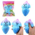 Оригинал Vlampo Squishy Puppy Собака Мороженое медленно растет с подарком коллекции упаковки Soft Toy