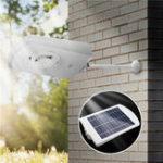 Оригинал 15W Солнечная Powered Light Control Водонепроницаемы Wall Лампа На открытом воздухе Сад Walkway Street Light