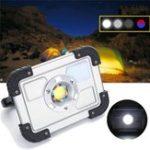 Оригинал 30W Портативный перезаряжаемый COB LED Кемпинг Светильник для фонарей для путешествий Рыбалка