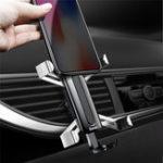 Оригинал Baseus Человек-паук Gravity Auto Замок Air Vent Авто Подставка для держателя телефона для Samsung iPhone X Xiaomi