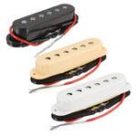 Оригинал 3Pcs Alnico 4 Electric Guitar Single Coil Pickup Шея Комплект для установки среднего моста