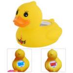 Оригинал LEDЦифроваядетскаядетскаяваннадля младенцев Термометр Таймер для воды Датчик Safety Duck Floating Toy ℃ / ℉ Функция сигнализации Ван