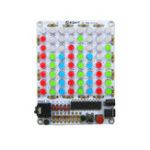 Оригинал Unassemble 8 * 8 Индикатор уровня звукового спектра Акустический спектр Световой индикатор звука Набор DIY Электронные компоненты