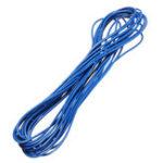 Оригинал 10 лотов 5 метров / лот Blue 300V Super Flexible 22AWG Медь ПВХ-изоляция Провод LED Электрический кабель UL Соответствует RoHS