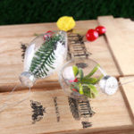Оригинал Новогоднее украшение Свадебное DIY party Event Memory Ball