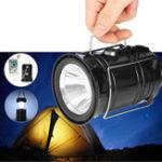 Оригинал 3W5LEDUSBСолнечнаяLightПерезаряжаемый Кемпинг Тент аварийный фонарь