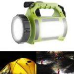 Оригинал ARILUX® Аккумуляторная LED Кемпинг Фонарь Spotlight Водонепроницаемы 2000mAh Power Bank Походная чрезвычайная ситуация